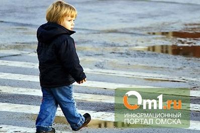 В Омске во дворе дома омич сбил 4-летнего ребенка