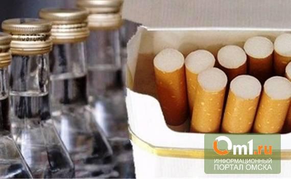 Роспотребнадзор: в Омске сигаретами и алкоголем торгуют с нарушениями