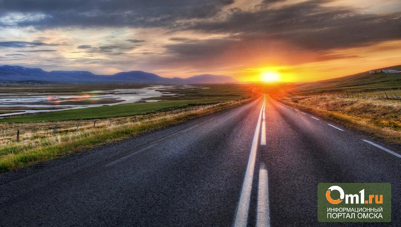 Фермер из Омской области на бабушкино наследство построил дорогу