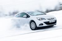 Opel Astra GTC: зимний драйв