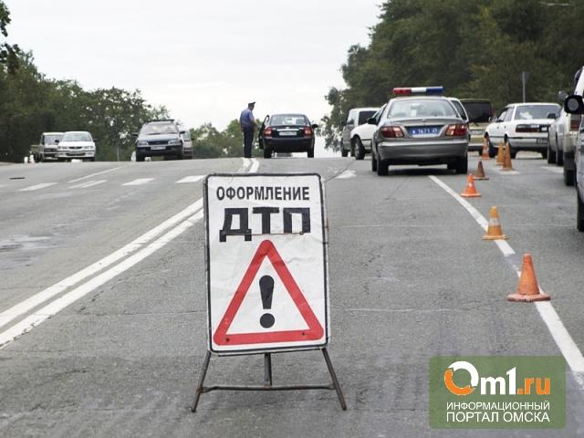 Полиция в Омске ищет скрывшегося с места ДТП водителя
