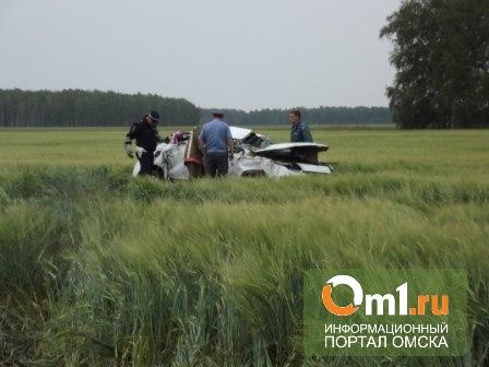В Омской области иномарка улетела в кювет: пять пострадавших