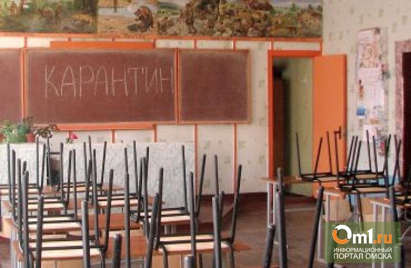 В Омской области на карантин отправили детский сад и три школы