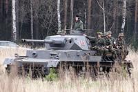 В российского солдата выстрелили из танка