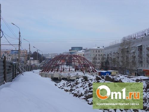 В Омске развязку на Гагарина достроят к маю