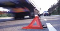 На трассе Омск – Тюмень столкнулись три грузовика