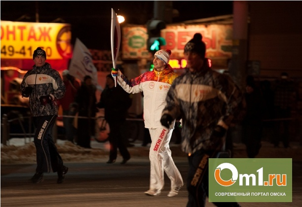 По улицам Омска вновь пробегут факелоносцы