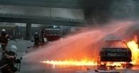 В Омске за сутки горело два авто – ВАЗ и Honda Civic
