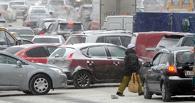 Пробки в Омске в 5 баллов: ДТП на улице Конева и Красный путь
