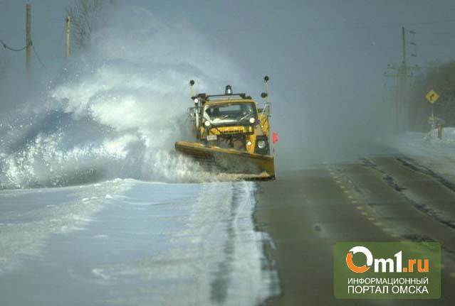 Омская мэрия считает, что оперативно справилась с последствиями снегопада