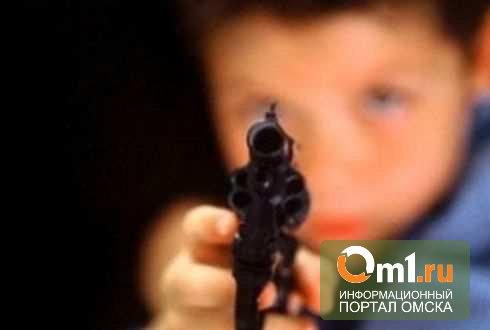 В Омской области сын нечаянно прострелил ногу отцу