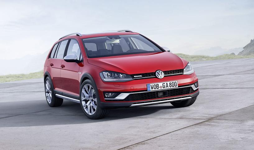 Всеядный: Volkswagen сделал из «Гольфа» вседорожник