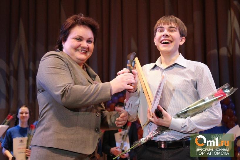 Омский школьник стал первым во всероссийском конкурсе «Ученик года -2013»