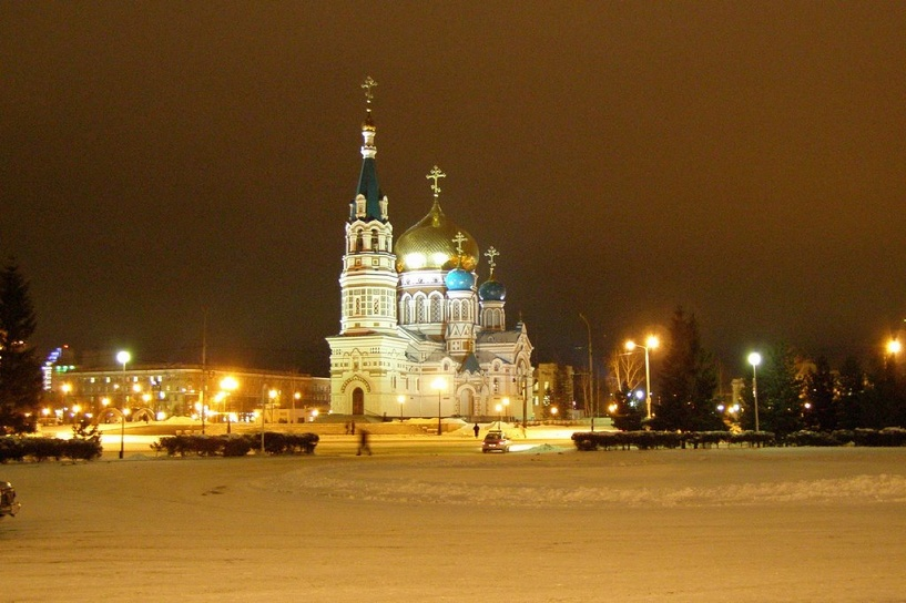 В уличном освещении Омска начнут применять светодиодные лампы