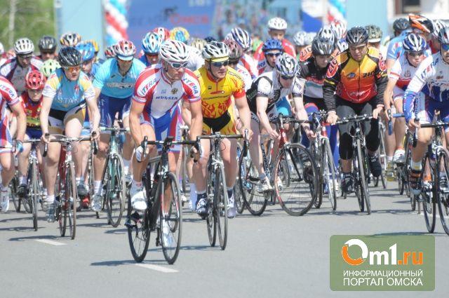 В Омске проходит спортивный праздник «ВелоОмск-2014»
