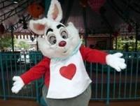 Афроамериканская семья обвинила в расизме белого кролика из Диснейленда