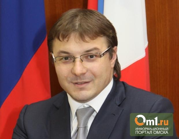 Омский губернатор подтвердил отставку министра экономики
