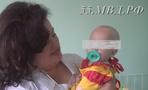 Брошенной в омском парке малышке исполнилось 7 месяцев