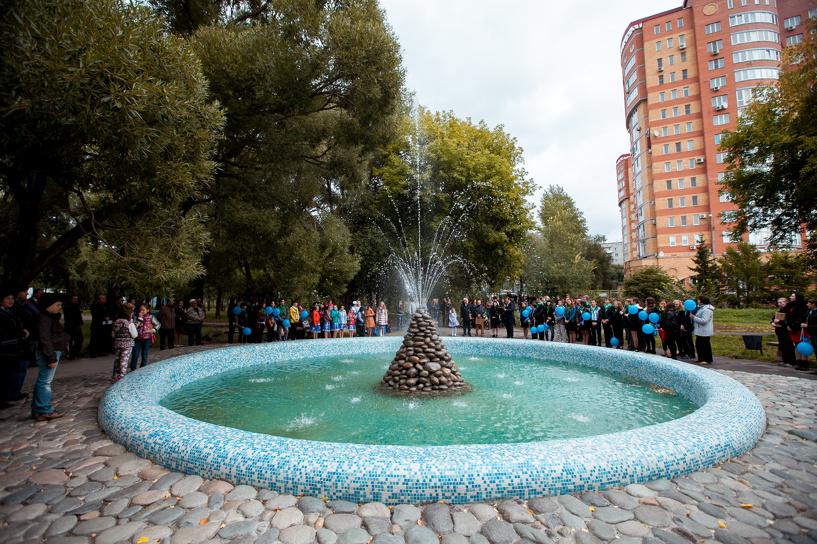«Газпромнефть-Региональные продажи» помогли восстановить городской фонтан