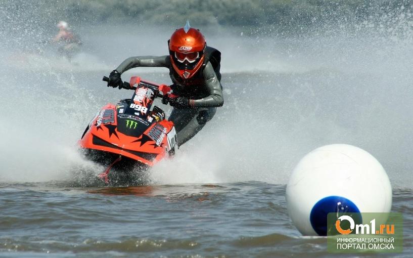 В Омске открывается навигация для катеров и водных мотоциклов