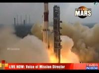 Первая индийская ракета полетела на Марс