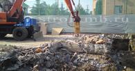 В Омске снесли незаконные склады на Орджоникидзе