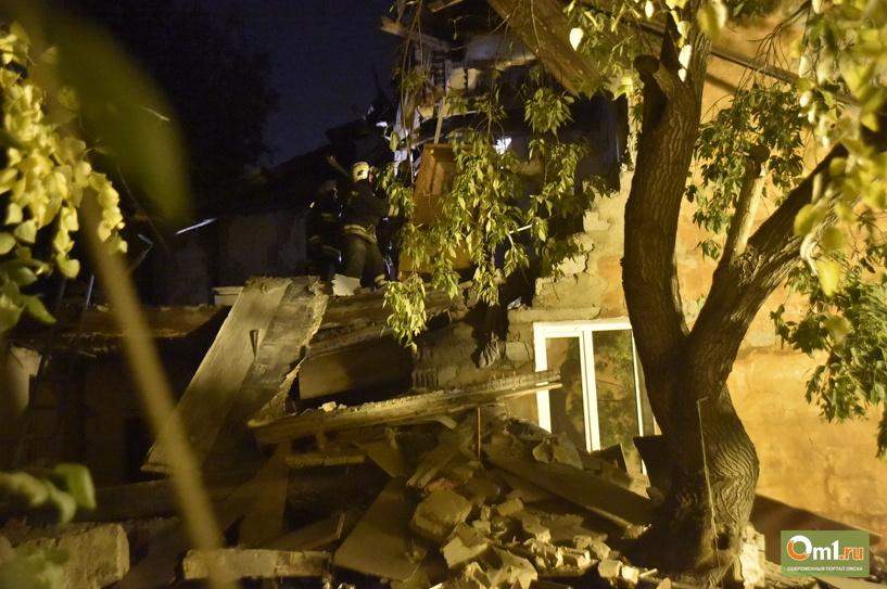 «Омскгоргаз»: на кухне взорвавшейся квартиры был снят газовый шланг