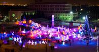 В Омске у санатория «Восход» вновь заработал городок «Беловодье»