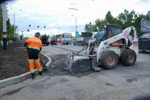 В Омске будет отремонтировано 296 дорог.