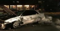 В Омске на улице Жукова произошло тройное ДТП