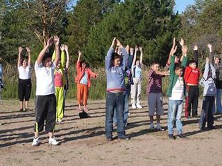 В Омске появится первый мини-парк для занятий физкультурой