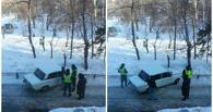 Пятеро пьяных омичей устроили ДТП прямо во дворе дома