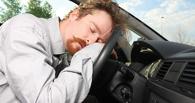 Омский водитель под наркотой уснул на проезжей части