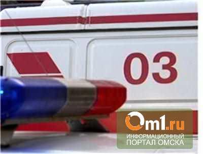 В Омске водитель «скорой помощи» протаранил «Приору»: трое пострадали