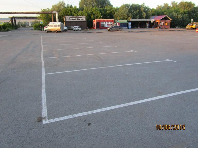 В Омске на «ДСК-2» благоустроили разворотную площадку для маршруток и автобусов