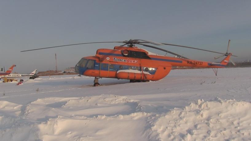Омские приставы арестовали 12 вертолетов