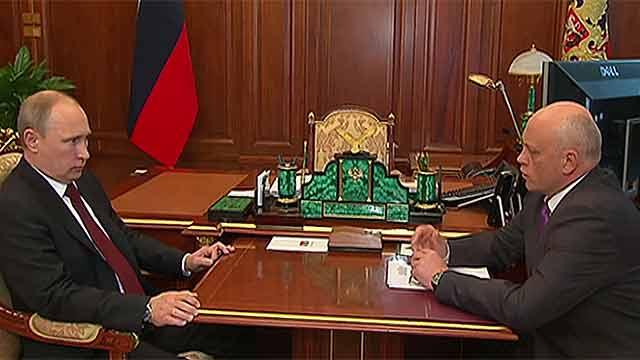 Назаров и Двораковский отправились к Путину