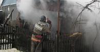 В частном секторе Омска пожарные спасли ребёнка