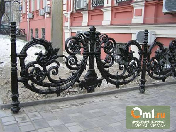В Омской области украли чугунную ограду памятнику воинам-освободителям