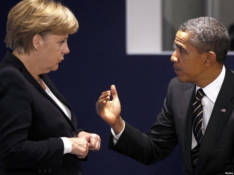 За день до Брюсселя: Обама и Меркель договорились усилить санкции против России
