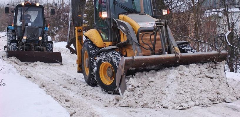 Мэрия: с омских дорог вывезено 11 тысяч кубометров снега