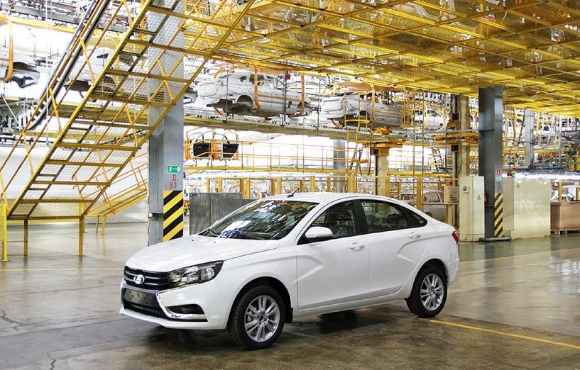 «Какого цвета платье?» АвтоВАЗ предложил клиентам выбрать окрас будущей Lada Vesta