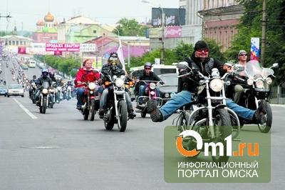 """Омские байкеры расскажут о мотоДТП и научат управлять """"железными конями"""""""