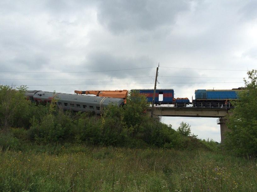 В Мордовии восстановили движение поездов на участке, где сошел с рельсов состав Екатеринбург — Адлер