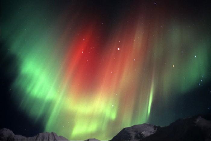 Омичи могут стать свидетелями Северного сияния