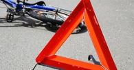 В Омске на Иртышской набережной водитель иномарки сбил 11-летнюю велосипедистку
