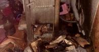 После гибели в огне четырех детей в Омске возбудили уголовное дело
