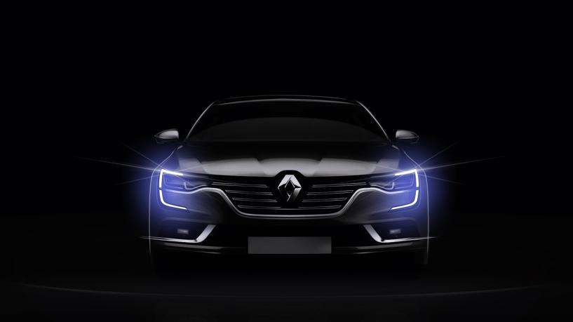 Оберег: Renault показала новый флагманский седан Talisman