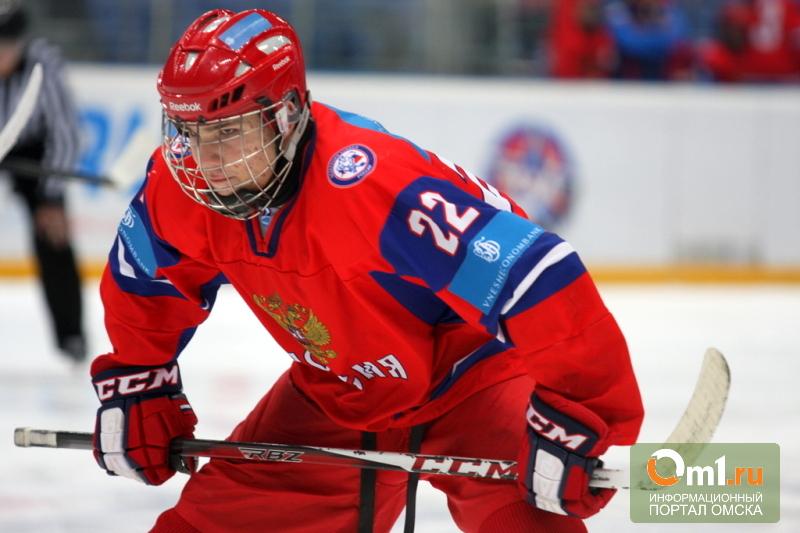 Омский «Авангард» подписал контракт с 16-летним нападающим