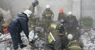В Омске из-под завалов рухнувшего цеха извлекли тело сторожа